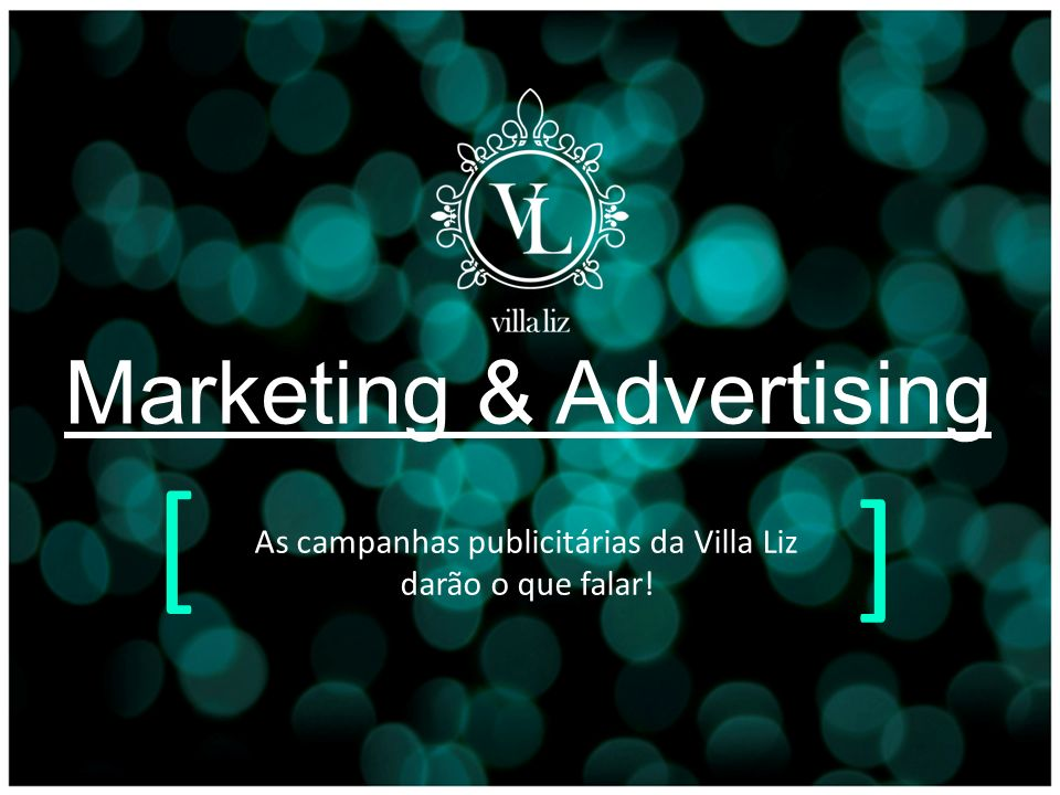 [ ] Marketing & Advertising